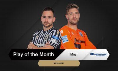 Ψηφίστε το Energoprojekt Play of the Month Μαΐου