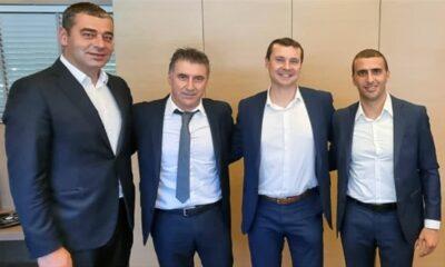 Συνάντηση Ζαγοράκη με αντιπροσωπεία της UEFA
