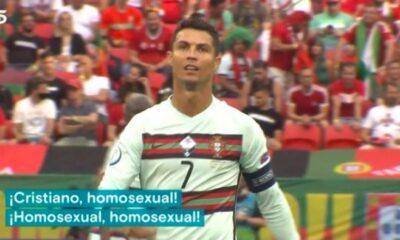 Ομοφοβικά συνθήματα από τους Ούγγρους για Ρονάλντο! (vid)