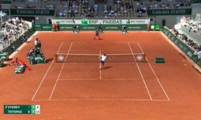 Ζβέρεφ – Τσιτσιπάς: Με θεαματικό τένις το 2-0 ο Στέφανος! (vid)
