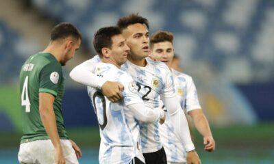 Σόου Μέσι, 4άρα και πρώτη θέση για Αργεντινή (vid)
