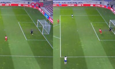 Απίθανο γκολ! Τερματοφύλακας κάνει ΔΥΟ «τσαφ» σε 4 δευτερόλεπτα! (vid)