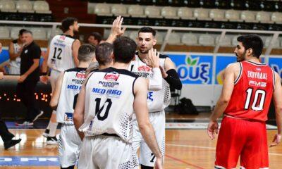 Ο Απόλλων Πάτρας κέρδισε τον Ολυμπιακό και ανέβηκε στη Basket League!