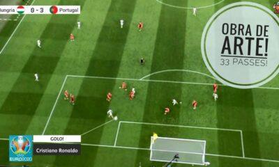 Η Πορτογαλία του Σάντος έσπασε τα κοντέρ! Οι 33 πάσες μέχρι το 3-0! (vid)