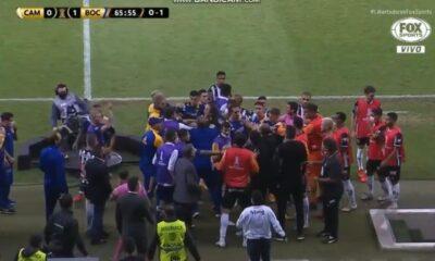 Τεραστίων διαστάσεων επεισόδια μεταξύ παικτών στο Μπόκα – Ατλέτικο Μινέιρο (vid)