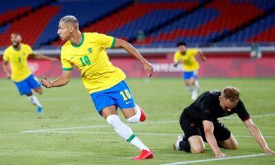 Με χατ-τρικ του Ριτσάρλισον, η Βραζιλία 4-2 τη Γερμανία
