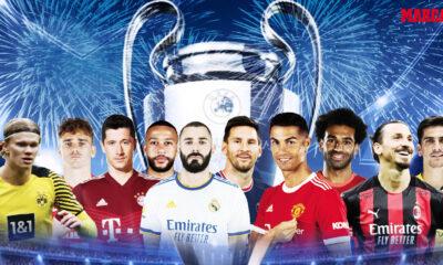 Αφιέρωμα: Οι 32 ομάδες του Champions League! Ενδεκάδες, προπονητές, αστέρια!