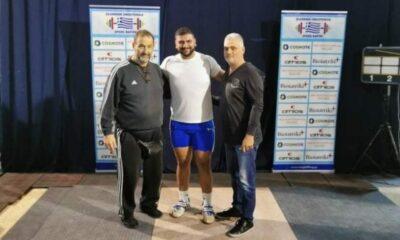 «Πάνοπλος» ο ΠΑΟΚ στο Πανελλήνιο Πρωτάθλημα Άρσης Βαρών!