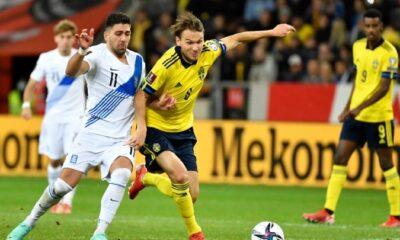 Σουηδία – Ελλάδα: Άδοξη ήττα…